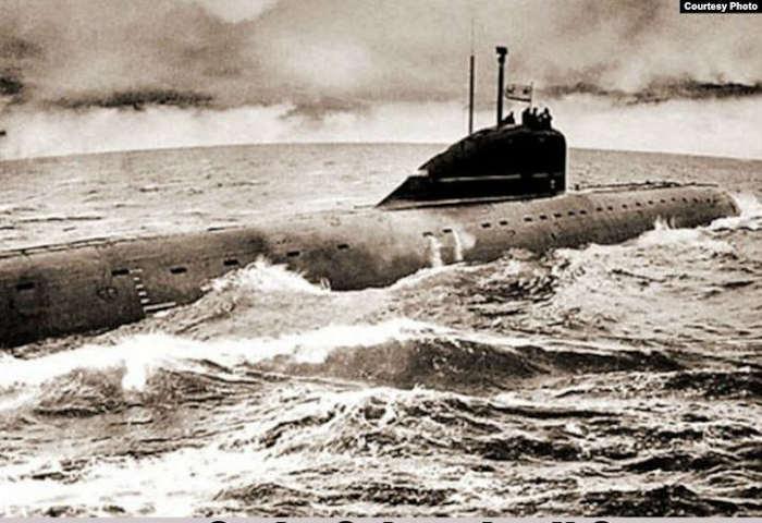 Советская подводная лодка К-8