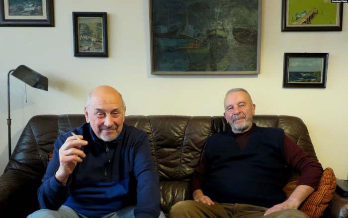 Светослав Юрекчиев и Владимир Стойнов, моряки болгарского сухогруза
