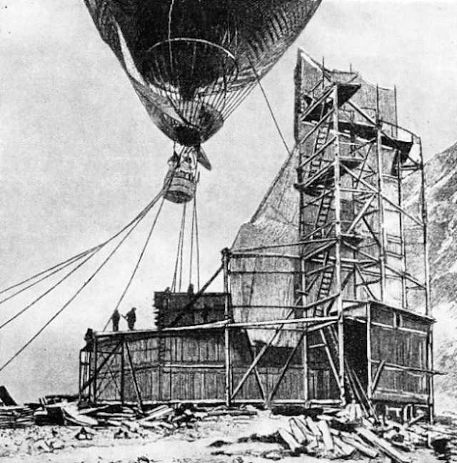 Летом 1897 года в просторах Северного Ледовитого океана на пути к Северному полюсу бесследно исчез шведский аэростат «Орнен» («Орел») и его экипаж – полярные исследователи Соломон Август Андрэ, Кнут Френкель и Нильс Стриндберг.