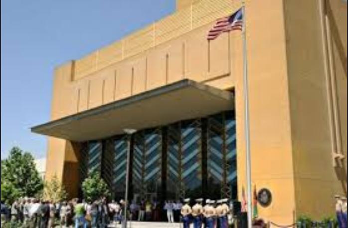 Американское посольство в Афганистане