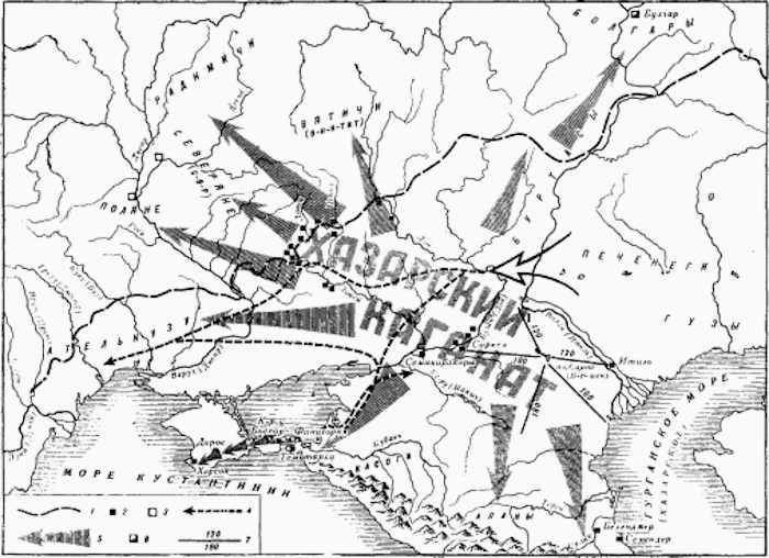 Хазария в VIII—IХ вв.