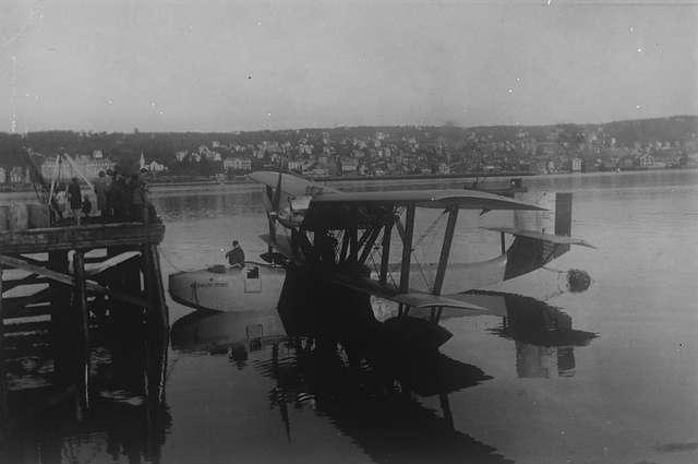 18 июня 1928 года трагически окончилась экспедиция по спасению дирижабля «Италия» на гидросамолете «Латам-47», организованная Руалем Амундсеном. По-видимому, самолет упал в море; все находившиеся на его борту бесследно исчезли.