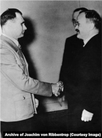 Рудольф Гесс и Вячеслав Молотов в Берлине, 12 ноября 1940 года, Берлин