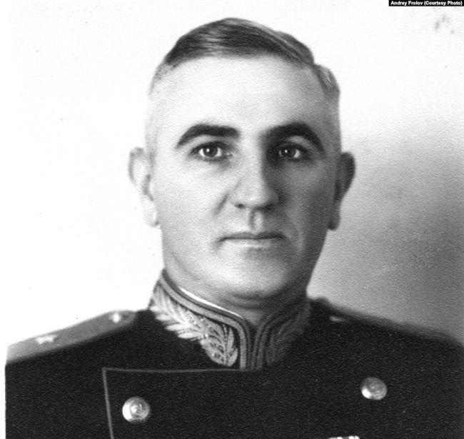 сотрудник СМЕРШа генерал Андрей Фролов