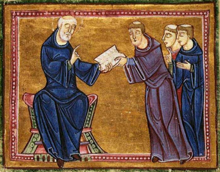 монахи Средневековья